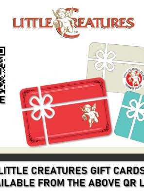 LC gift card poster